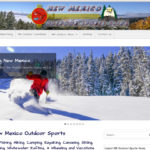 TWD Featured Web Design: New Mexico Outdoor Sports Guide